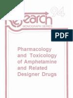 Khursheed Asghar & Errol De Souza - Pharmacology  and Toxicology  of Amphetamine  and Related  Designer Drugs
