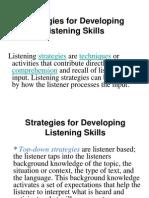 Listening Skill