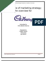CADBURY -Marketing Stretegy
