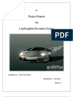 Lamborghini Project Report on Design