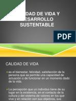 Parte 1 Calidad de Vida y Desarrollo Sustentable