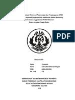 Review Dan Evaluasi Reformasi an Dan an APBN