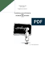 1º ESO - LENGUA - CUADERNILLO  DE ORTOGRAFIA Y TECNICAS DE ESTUDIO - IMPRIMIR