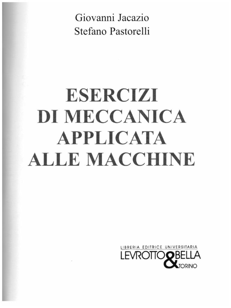 Applicata macchine pdf pastorelli alle meccanica