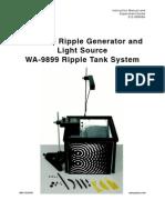 Pasco Ripple Tank Manual