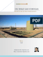 Fracking Oil Shale Gas vs Biogas