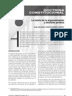 TEORIA DE LA ARGUMENTACION Y DECISION JURIDICA ...
