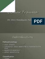 Ocular Trauma Slide