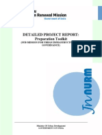 Detailed Project Report Preparation Guidelines