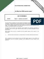Economics November 2006