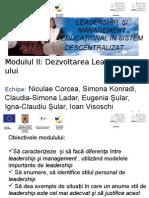 PPT Dezvoltarea Leadership-Ului DRAFT2 BISTRITA