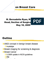 Ryan-breast Cancer Update
