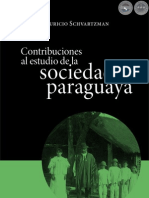 Contribuciones al Estudio de la SOCIEDAD PARAGUAYA - Mauricio Schvartzman - Paraguay - Portal Guarani