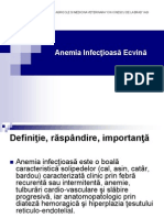 Anemia Infectioasa Ecvina
