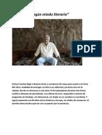 No tengo ningún miedo literario  (Ultima entrevista a Carlos Fuentes)