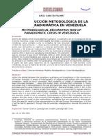 desconstrucción metodológica crisis paradigmática