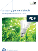 LED Catalogue-Efficiency Pure and Simple