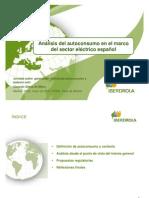 Análisis del autoconsumo en el marco del sector eléctrico español - Iberdrola
