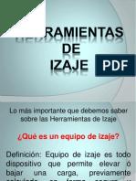 HERRANIENTAS DE IZAJE