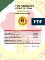 Manual Del Usuario APP Control Escolar Final