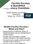 HealthFacilitySurveysQSC