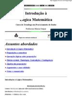 (Marisa Gaspar - Lógica Matemática)