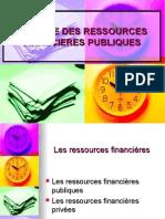 Analyse Des Ressources Financieres Publiques