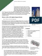 Civil Engineering - Wikipedia, The Free Encyclopedia