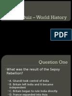 Imperialism Quiz