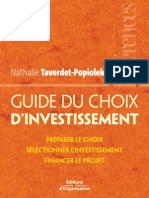 Guide Du Choix d'Investissement