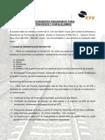 Requisitos Atraviesos y Paralelismos 03 de Noviembre 2009
