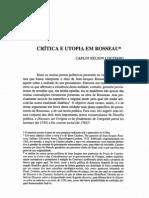 COUTINHO, Carlos Nelson - Crítica e Utopia em Rousseau