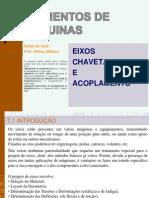 7_eixos, Chavetas e Acoplamentos