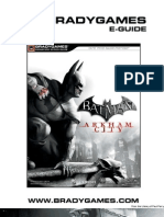 02 batman arkham city official strategy guide batman leisure rh scribd com