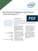 Microsoft Windows 7 Upgrade Intel It Best Practice Paper
