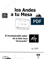 Arracacha (Universidad Mayor de San Simón)