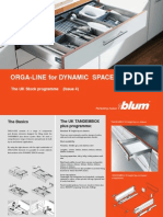 Orga Line Dynamic Space Programme