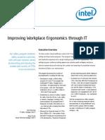 Improving Workplace Ergonomics Through IT