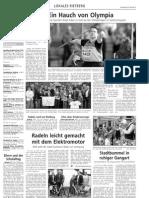 Ein Hauch von Olympia - Westfalen Blatt 22.05.2012
