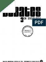 Debates en Sociología Nº 03