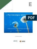 Plan Estrategico IIS 2010 14 iSocial