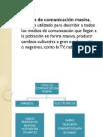 UNIDAD 3 COMUNICACION MASIVA