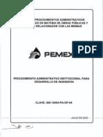 04 Desarrollo de Ingenieria PEMEX