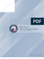 Office of Inspector General Peace Corps Semi Annual Report to Congress March 2012