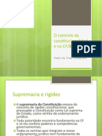 Aula - O Controle Da Constitucionalidade Na CF Vf