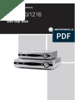Motorola VIP1200 and 1216 Set-Top Box