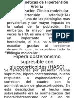 Formas genéticas de Hipertensión Arteria