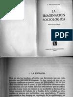 Mills - La Imaginacion Sociologica - La Promesa