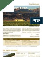 Guia de Viagem Mendoza