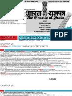 Information Technology Act Amendment- ITAA, 2008 with ITA 2000